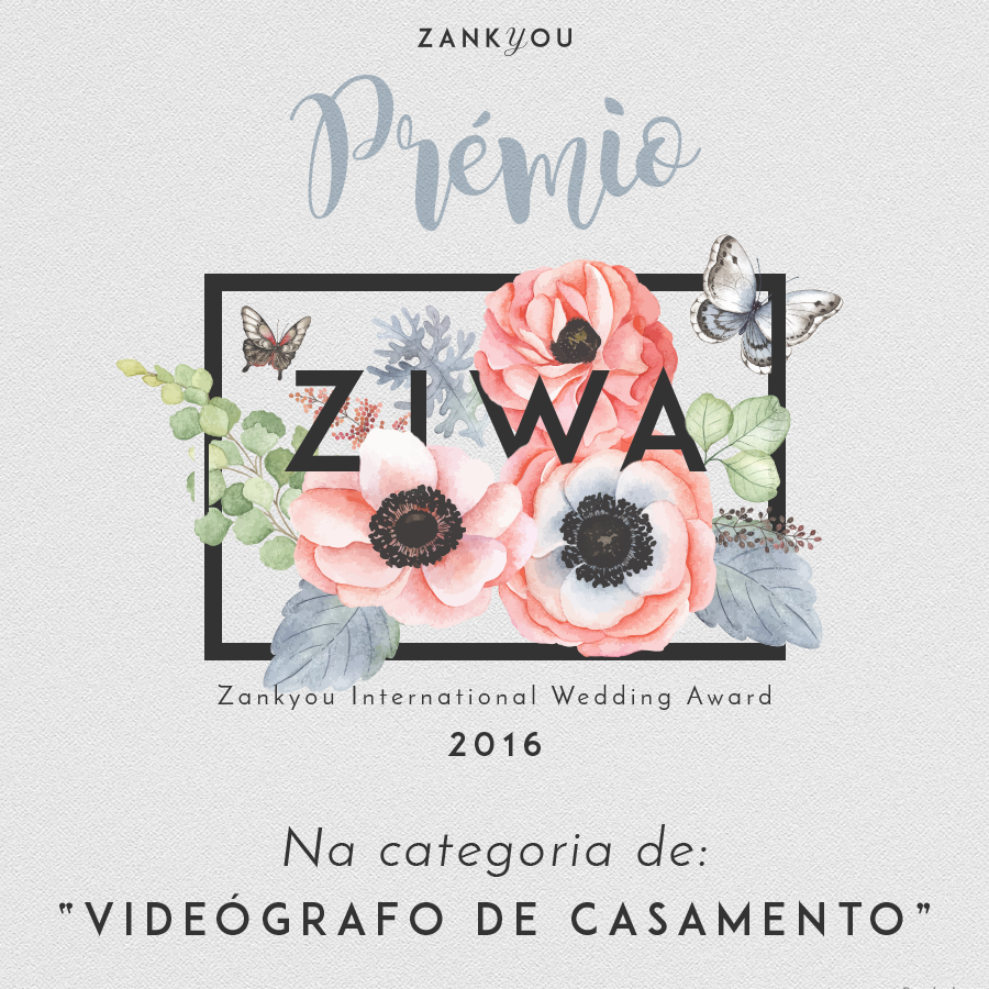 ZIWA – Zankyou International Wedding Awards de 2016